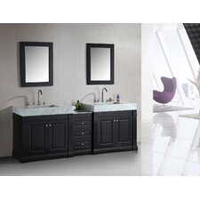 "Odyssey 90"" Double Sink Bathroom Vanity Set"