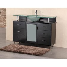"<strong>Design Element</strong> Huntington 48"" Single Sink Vanity Set"
