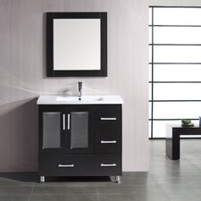 "Stanton 36"" Single Sink Vanity Set in Espresso"