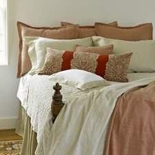 Tuscany Linen Gathered Dust Ruffle