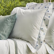 Pebbles Flanged Percale Sham