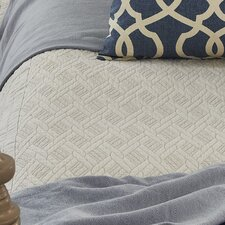 <strong>Traditions Linens</strong> Palmer Linen Coverlet