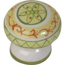 "Ceramic 1.75"" Santa Margherita Knob"