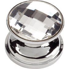 "Boutique Crystal 0.9"" Round Large Crystal Knob"