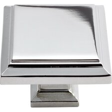 "Sutton Place 1.25"" Square Knob"