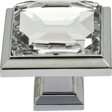 "<strong>Atlas Homewares</strong> Legacy 1.3"" Square Knob"