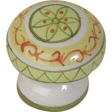 "Ceramic 1.75"" Santa Margherita Knob"