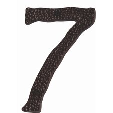 "5.5"" Large Hammered House Numbers"