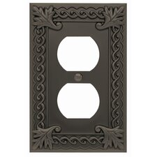 "<strong>Atlas Homewares</strong> 3.12"" Venetian Outlet Plate"