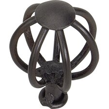 "Twisted Small Wire Frame 1.5"" Birdcage Knob"