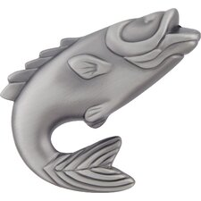 "Fish 2.25"" Novelty Knob"