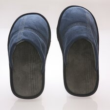 <strong>Deluxe Comfort</strong> Suede Polar Fleece Men's Slipper