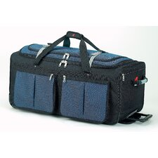 "15 Pocket  34"" 2-Wheeled Travel Duffel"