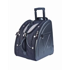 <strong>Athalon Sportgear</strong> Molded Wheeling Boot Bag in Platinum
