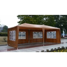 Outsunny 8.2' H x 10' W x 20' D Gazebo Canopy Party Tent