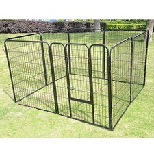 "40"" 8-Panel Heavy Duty Pet Playpen"