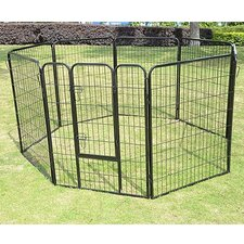 "32"" 8-Panel Heavy Duty Pet Playpen"