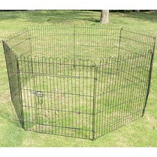 "30"" Tall 8-Panel Light Duty Pet Playpen"