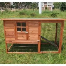 <strong>Aosom LLC</strong> Pawhut Hutch Chicken Coop with Nesting Box