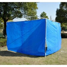 Outsunny Gazebo Tent Sidewalls (Set of 2)