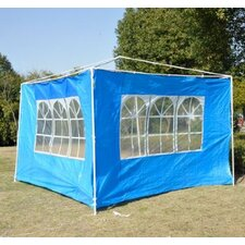 Outsunny Gazebo Sidewalls (Set of 2)