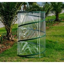 "Outsunny 27.5"" Round PVC Mini Greenhouse (Set of 2)"