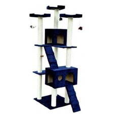 "<strong>Aosom LLC</strong> 72"" Condo Scratcher Cat Tree"