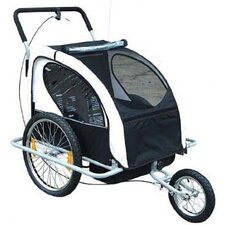 Elite Double Child Bike Trailer