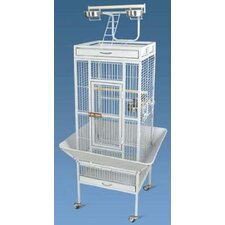 <strong>Aosom LLC</strong> Large Play Top Bird Cage