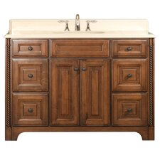 "Spain 48"" Single Standard Bathroom Vanity Set"