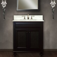 "<strong>Water Creation</strong> London 30"" Single Sink Vanity Set"