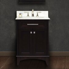 "Manhattan 24"" Single Standard Bathroom Vanity Set"