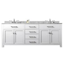 "Madison 72"" Double Sink Bathroom Vanity Set"