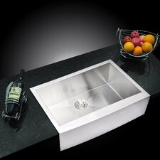 "<strong>Water Creation</strong> 33"" X 22"" Single Bowl Kitchen Sink"