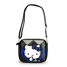 Hello Kitty Chevron Cross Body Bag