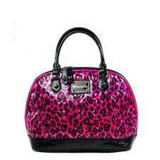 Skull & Hearts Embossed Handbag