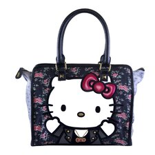 Hello Kitty Floral Tote Bag