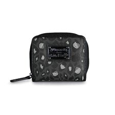 Hello Kitty Leopard Zip Around Wallet