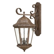 <strong>Great Outdoors by Minka</strong> Taylor Court 3 Light Outdoor Wall Lighting