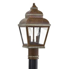 "<strong>Great Outdoors by Minka</strong> Mossoro 2 Light 16.75"" Outdoor Post Lantern"