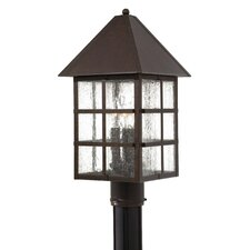 <strong>Great Outdoors by Minka</strong> Townsend 3 Light Outdoor Post Lantern
