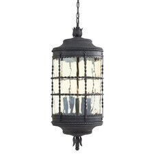 <strong>Great Outdoors by Minka</strong> Mallorca 5 Light Indoor/Outdoor Chain Hanging Lantern
