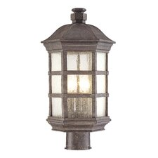 <strong>Great Outdoors by Minka</strong> Lighthouse Road 3 Light Outdoor Post Lantern