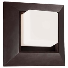 <strong>Great Outdoors by Minka</strong> Casona Square 1 Light Wall Mount