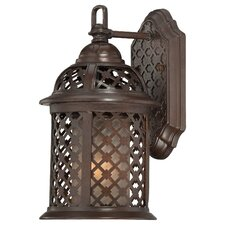 Las Brisas 1 Light Outdoor Wall Lighting