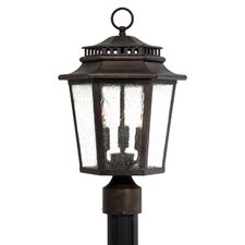 <strong>Great Outdoors by Minka</strong> Wickford Bay 3 Light Outdoor Post Lantern