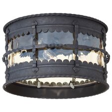 Mallorca Outdoor Flush Mount Lantern