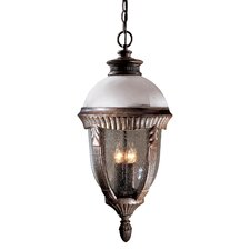 <strong>Great Outdoors by Minka</strong> Heron Bay 4 Light Outdoor Chain Hanging Lantern
