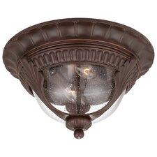 Kent Place 2 Light Outdoor Flush Mount