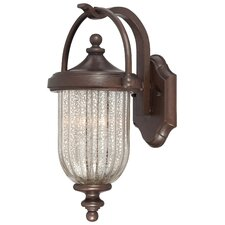 <strong>Great Outdoors by Minka</strong> Solara Hills 2 Light Outdoor Wall Lantern